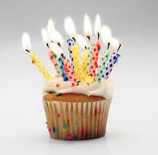 10 år cupcake