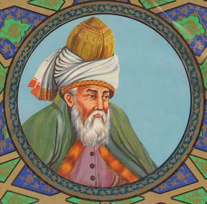 Rumi var en persisk poet som levde på 1200-talet.